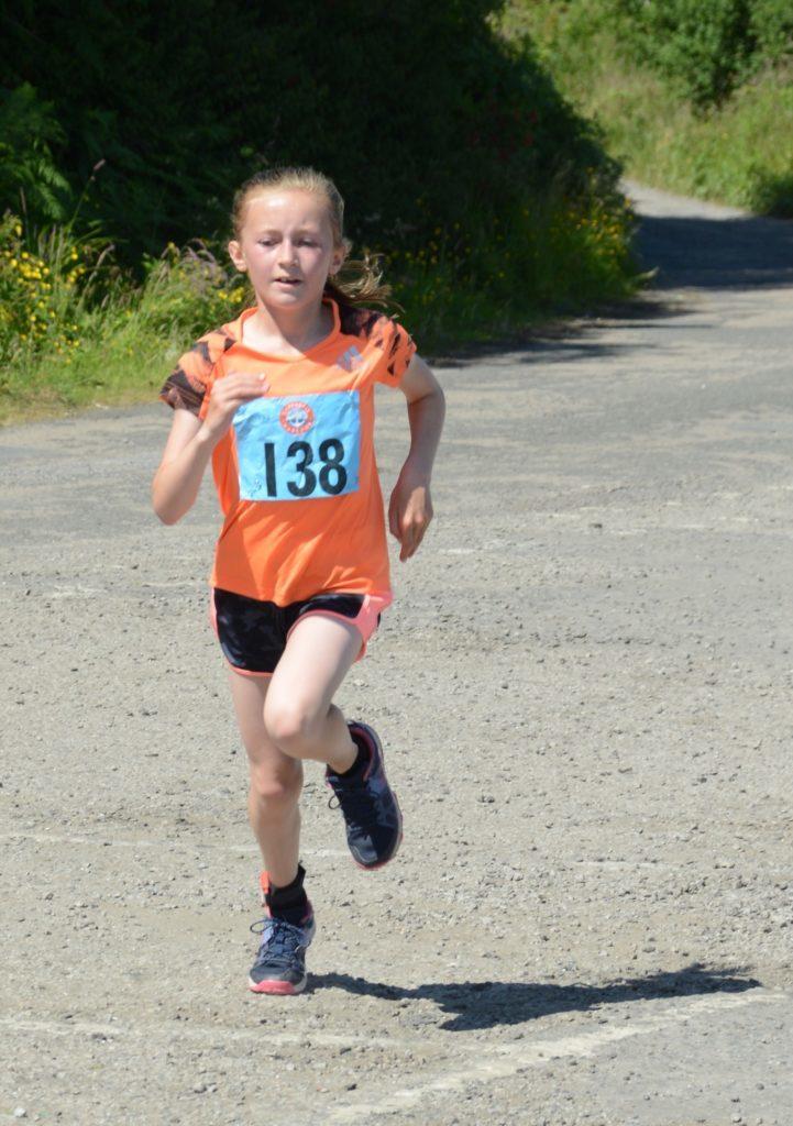 Ladies 5K winner Kirstie Renton