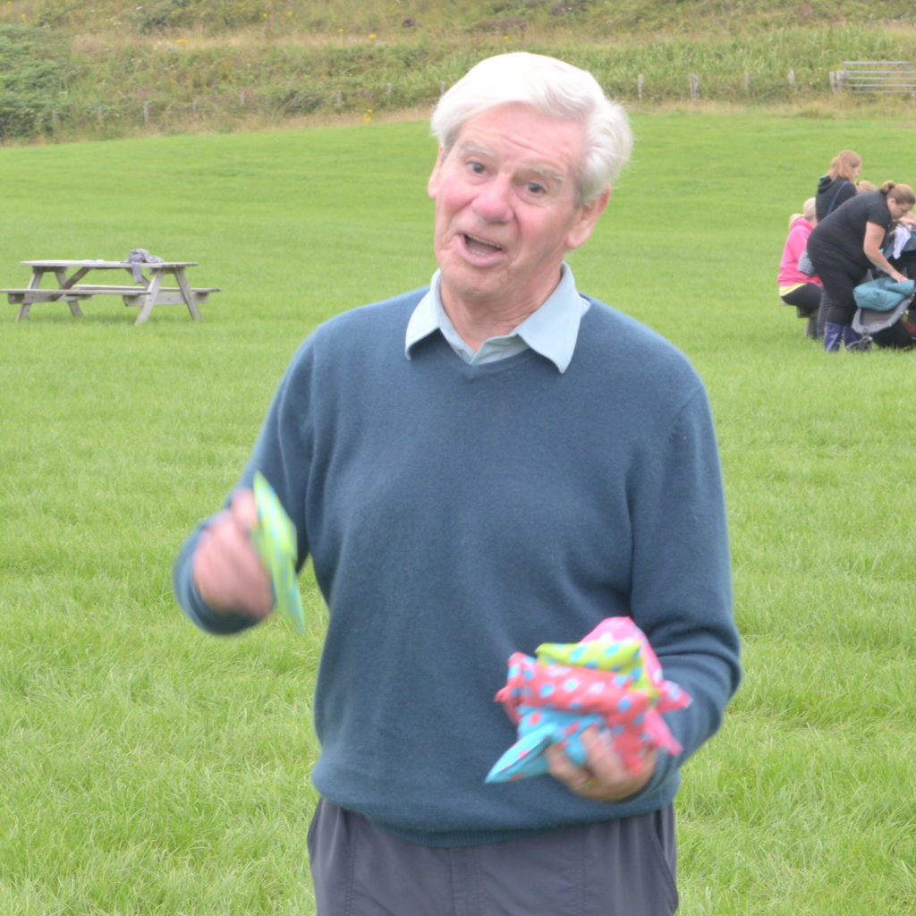 ​Martin Grady showed his skill with the bean bags. 25_c30funday06