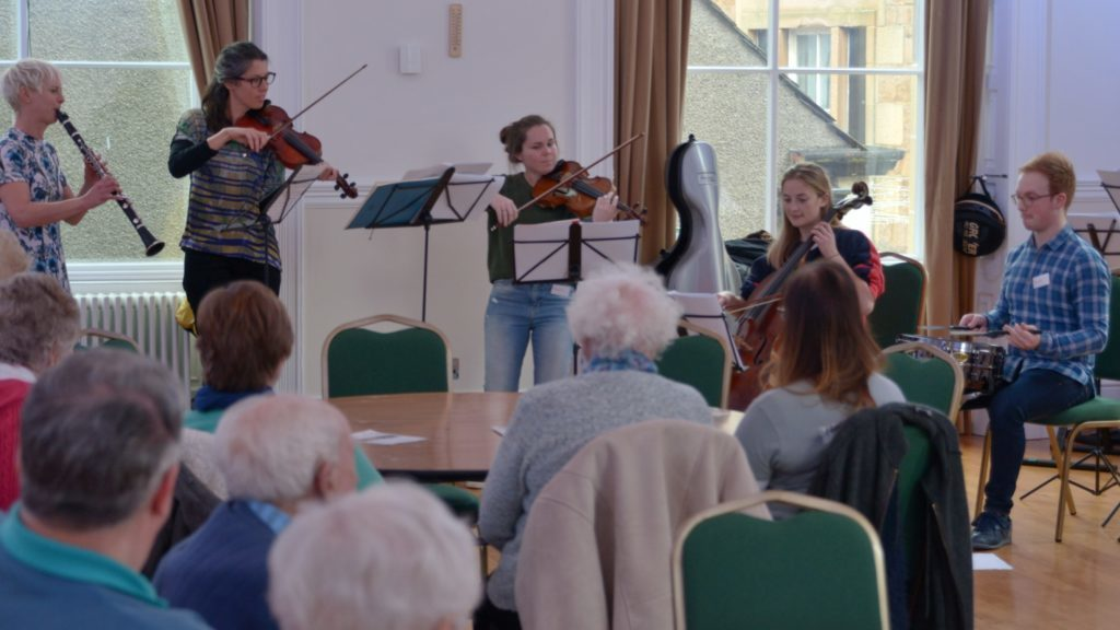 BBC SSO plays to the Old Pals