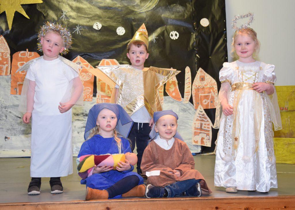 The pre-five children put on impressive performances.