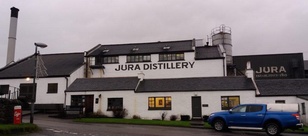 Jura Distillery is a major part of Jura's economy.