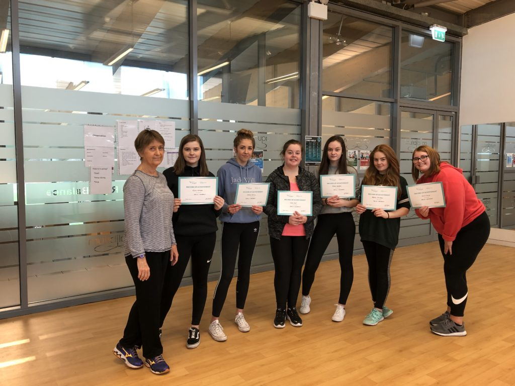 Those who completed the dance course.