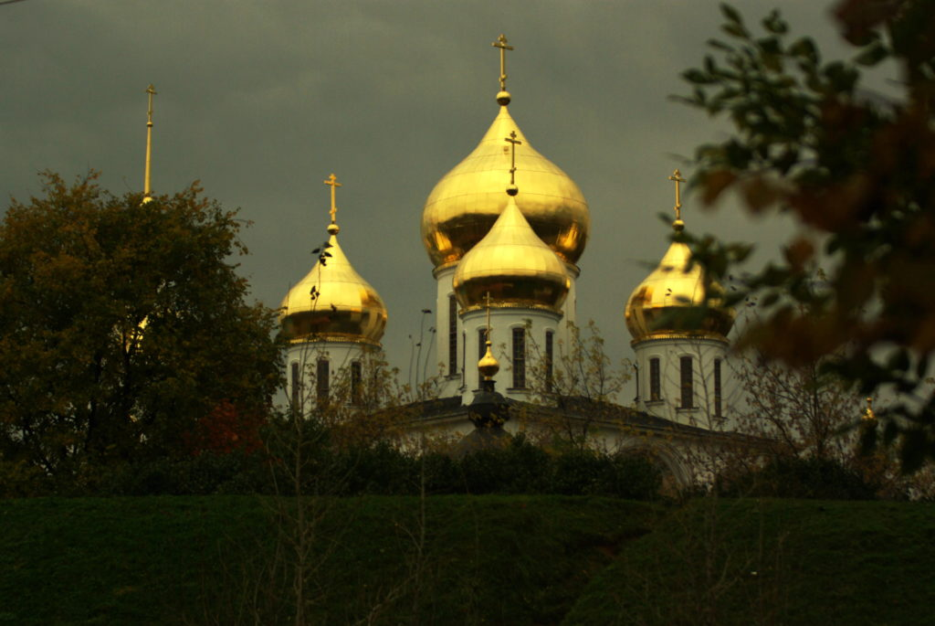 Cupolas, rounded domes forming roofs or ceilings, are synonymous with Russian culture.