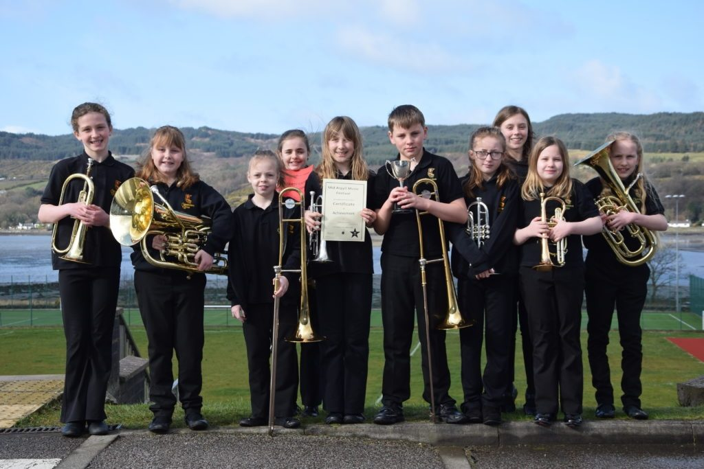 Campbeltown Brass A won the primary ensemble class.