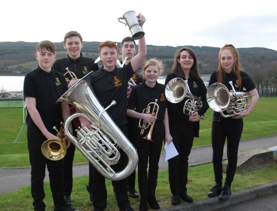 Campbeltown Brass B won the intermediate ensemble (S1 to 3) class.