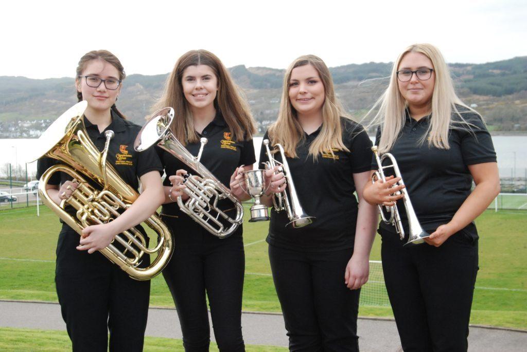 Quartet Suen Yee Walker, Amy Pateron, Rebecca Semple and Hannah Oman won the open instrumental ensemble.