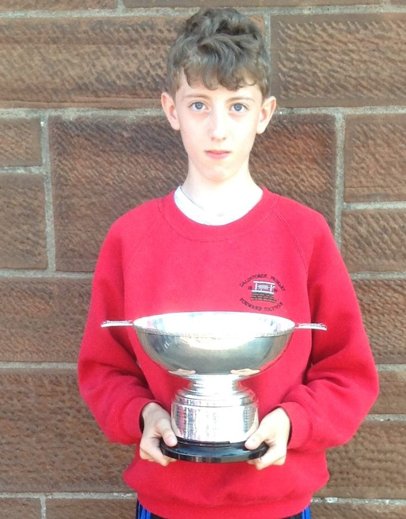 Alexander Colville Citizenship Trophy winner, Conor Morris.
