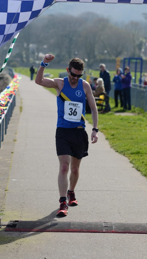 Stuart McGeachy won the inaugural Glen Scotia MOK Marathon in 2017.