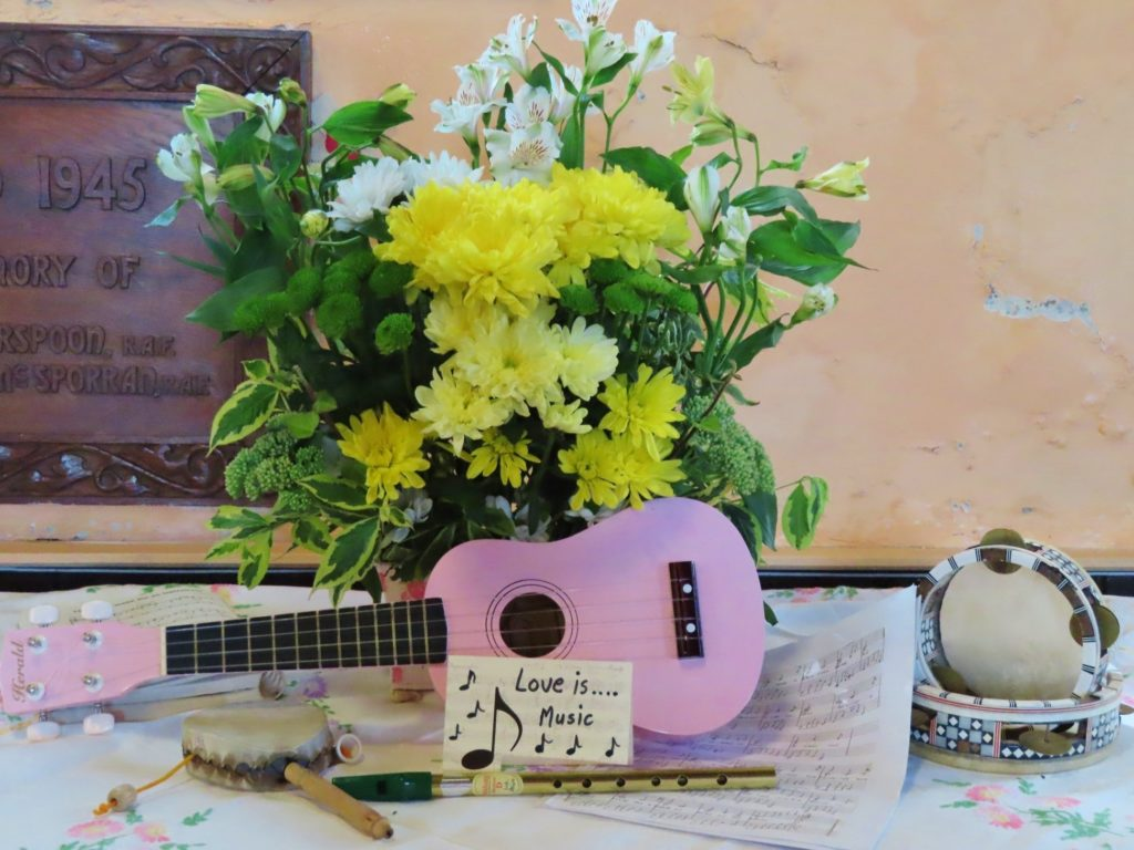 'Love is music.'