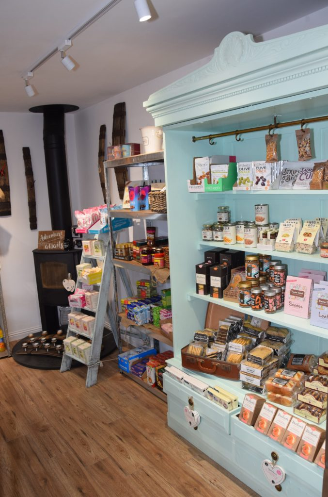 The shop will sell premium local products as well as everyday items.