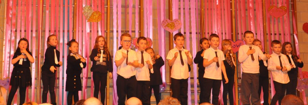 P3M performed BSL as they sang It Must Be Love by Madness, and Love Me Do by The Beatles.