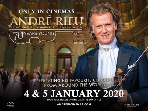 André Rieu: 70 Years Young is only in cinemas this weekend.