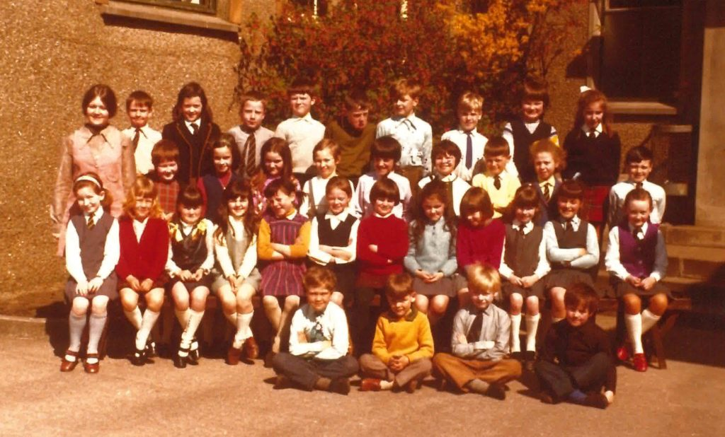 The only information we have is that this photograph was taken in 1972.   Taken at Dalintober Primary School.
