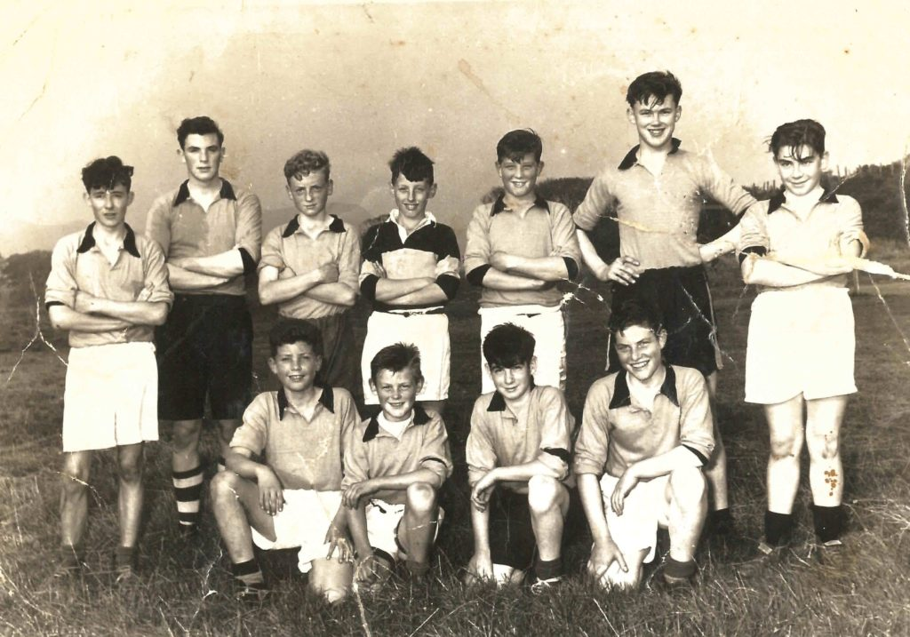Who are these young sportsmen?