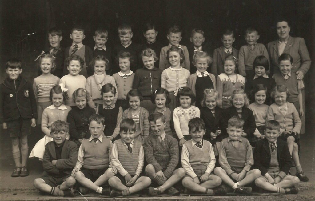 Can you identify any of these little scholars?