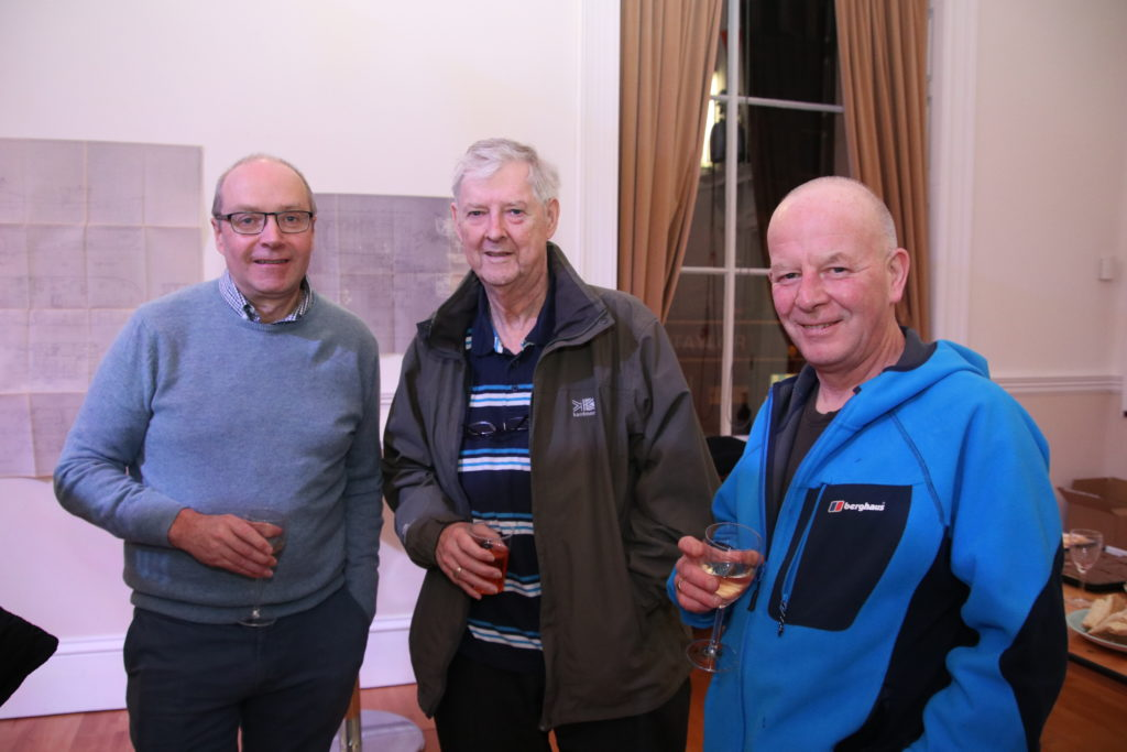 From left: Danny McGeachy, Ronnie McNally and Billy (Cully) Galbraith. Photograph: Kenny Craig.