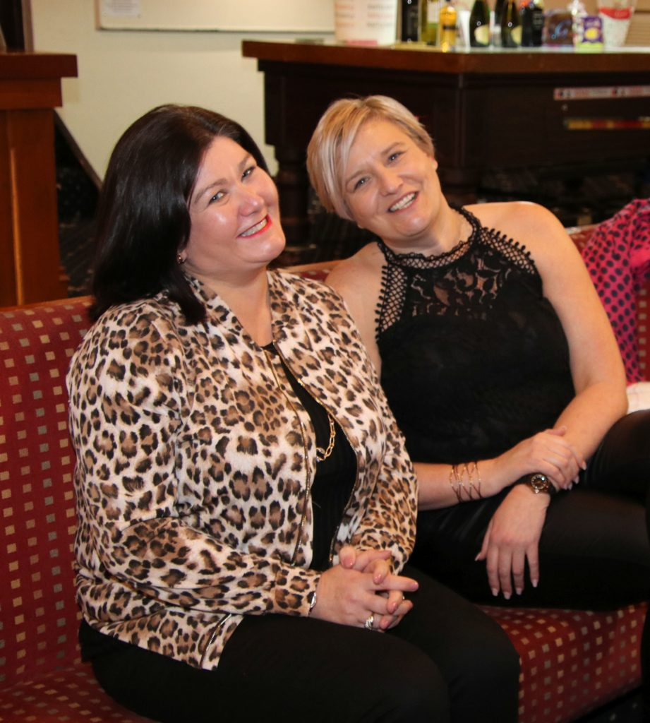 Linda McKellar and Lindsay Colville had a catch-up at the recent event.
