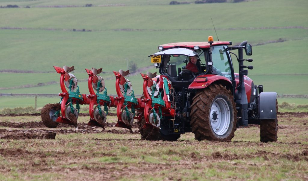 Ian Barbour picked up the Hamilton Bros Cup for winning most points using a Massey Ferguson tractor.