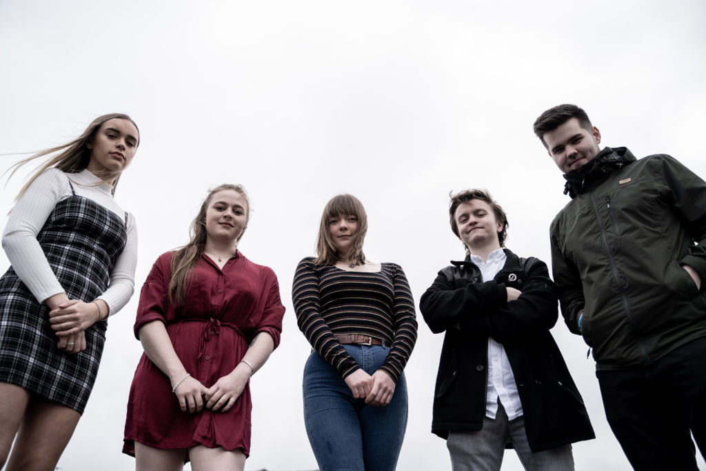 Rhuvaal comprises Alex Wotherspoon, Bronwen Davies, Kate MacPherson, Arran McAllister and Raymond Gosling.