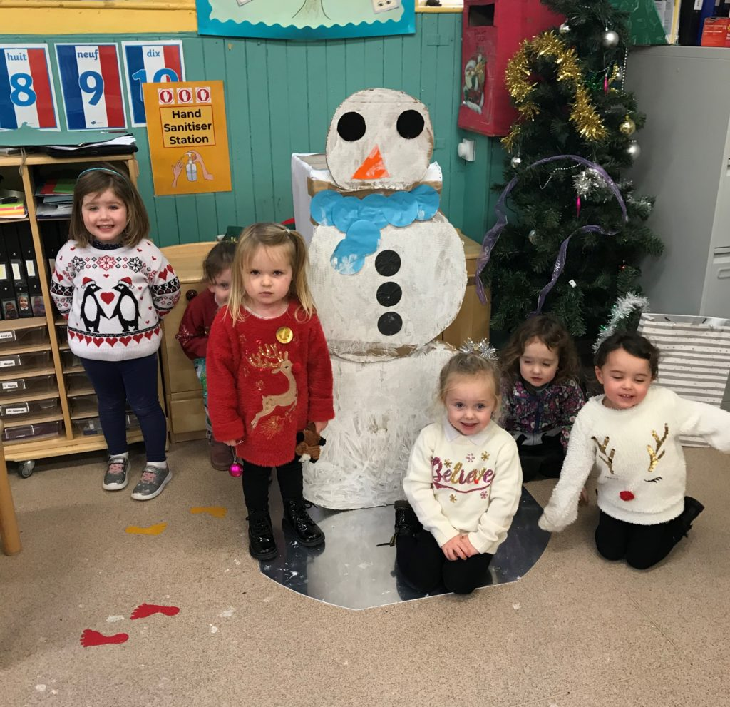 Children at Dalintober Early Learning Centre got into the festive spirit at their Christmas party.