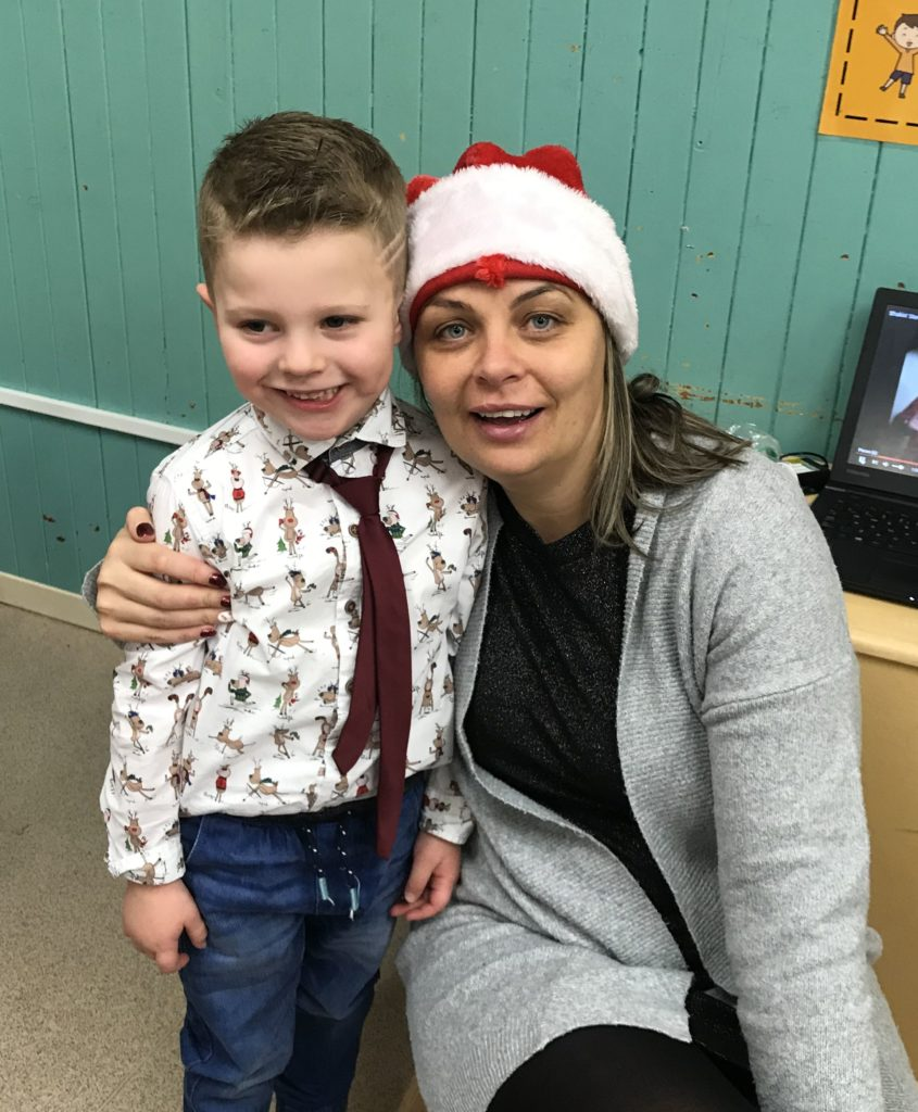 Staff and pupils at Dalintober Early Learning Centre enjoyed their Christmas party.