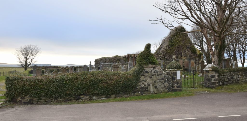 The mystery location in last week's Down Memory Lane was the historic cemetery at Killean.