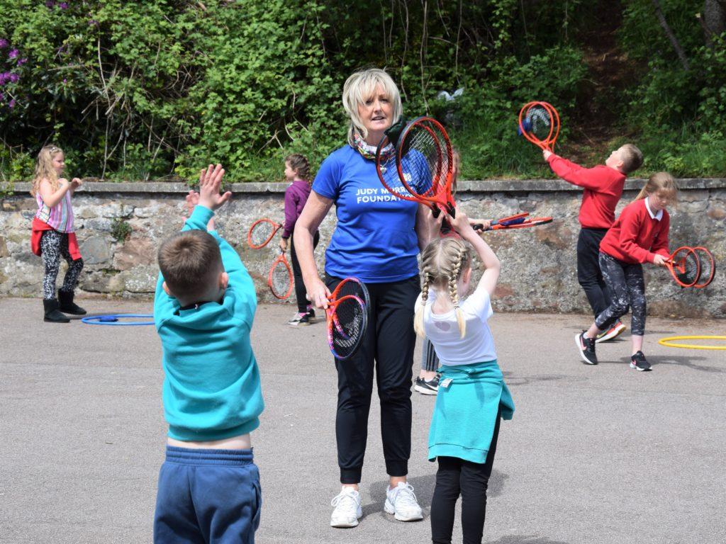 Laura Middleton described her visit to Campbeltown as 'fabulous'.