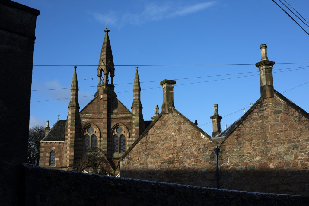 A Rich History and Heritage: Campbeltown Heritage Centre on Big Kiln Street was built as a church in 1868, during the town's whisky heyday. Photograph: Colin McPherson/Document Scotland. Photo shows: The Campbeltown Heritage Centre, formerly the Tartan Kirk, situated on Big Kiln Street, which was built during the town's whisky heyday in the 1860s.