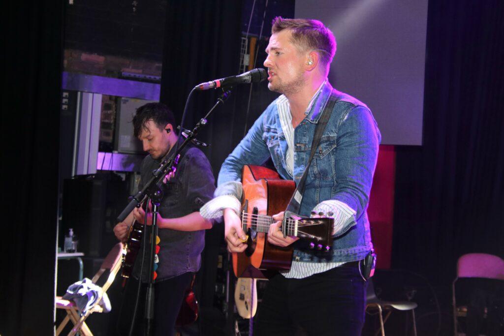 Tide Lines headlined Saturday night's West Coast Rocks Concert.