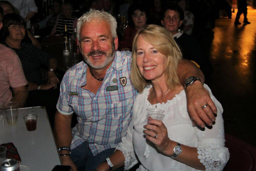 David and Aileen McCheyne enjoying the West Coast Rocks Concert.