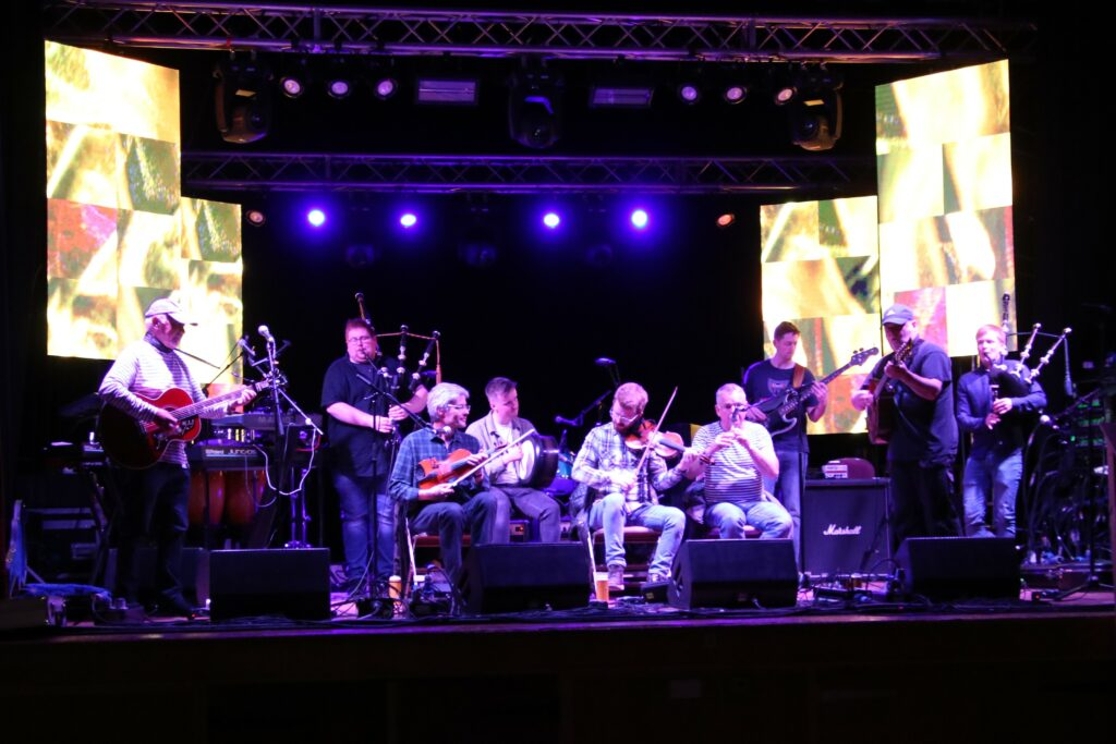 A wide range of musicians performed at the iconic Survivors Night on Sunday.