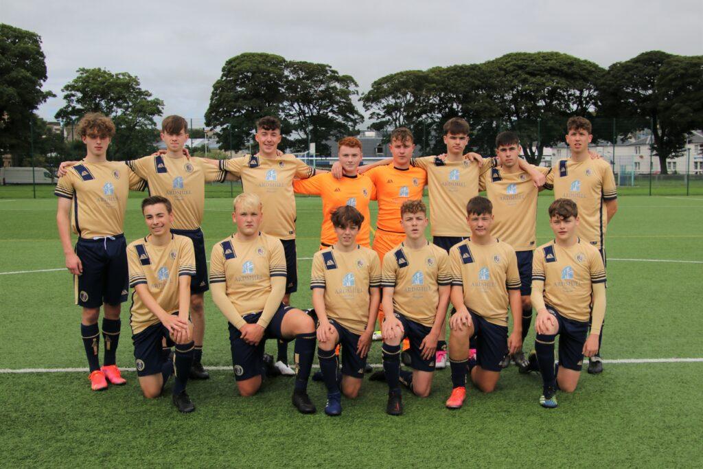 Campbeltown Pupils' under 17s team took on Finnart on Sunday.