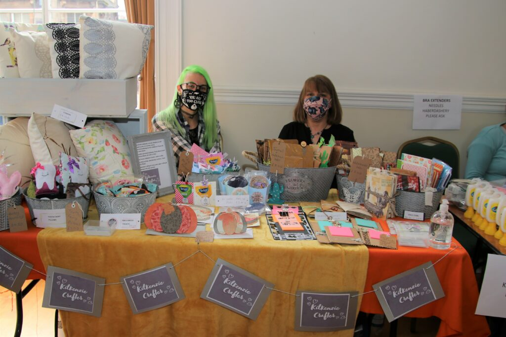 One of the fair's newer sellers was Kilkenzie Crafter.