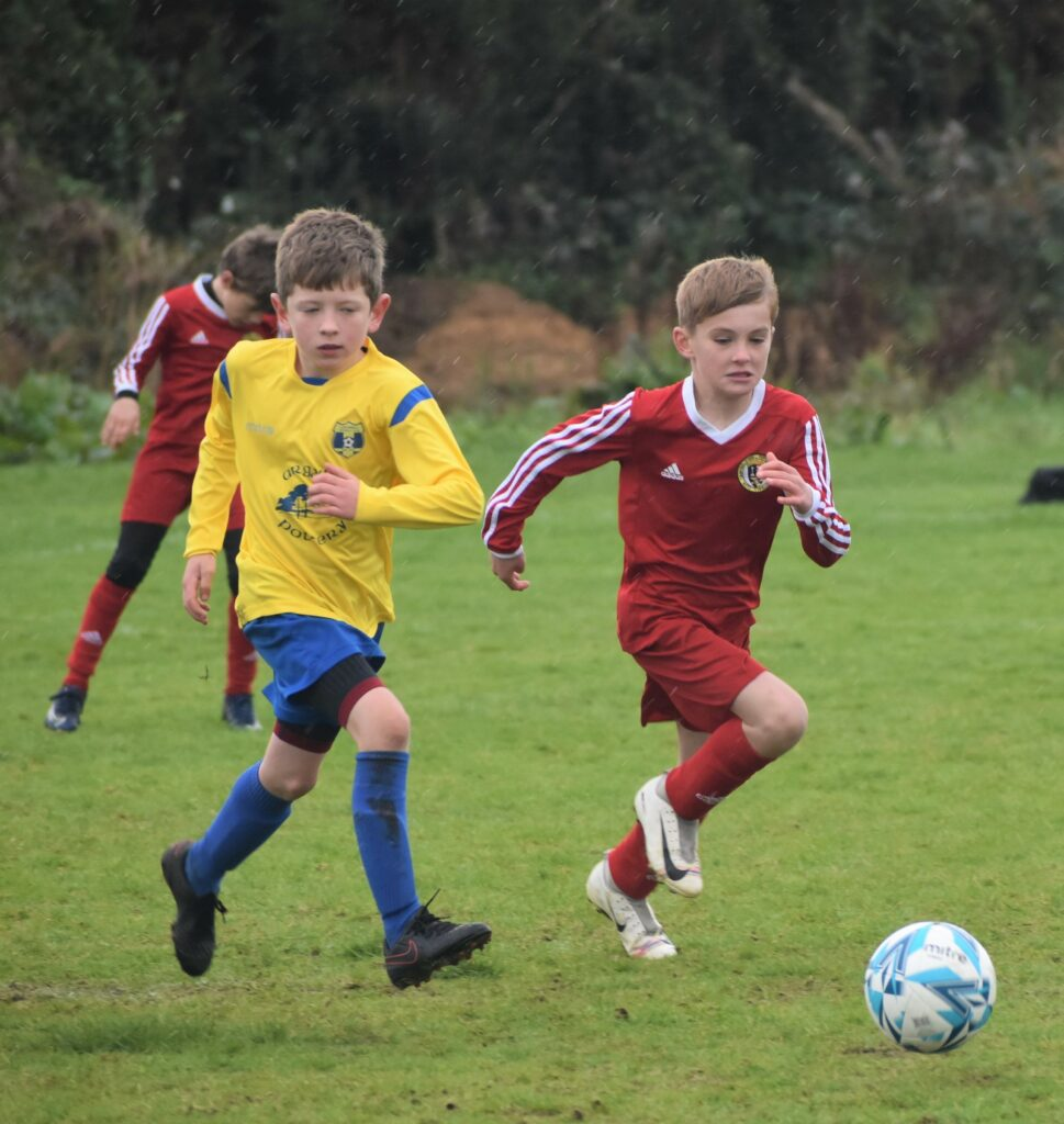 CDJFA's players competed against teams from across Argyll including Lochnell itself.