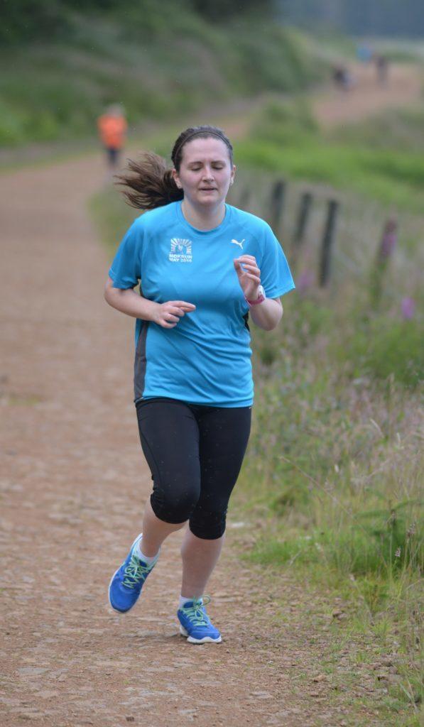 Runners race in midge heaven
