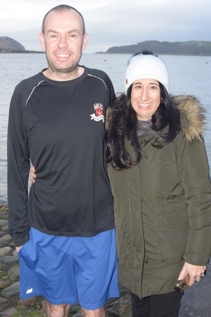New Yorker crosses the pond for Campbeltown loch dip