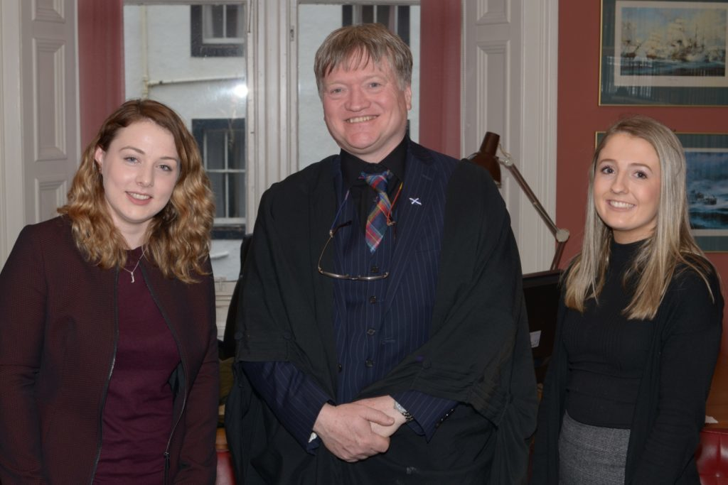 Law Society president's Wee Toon visit