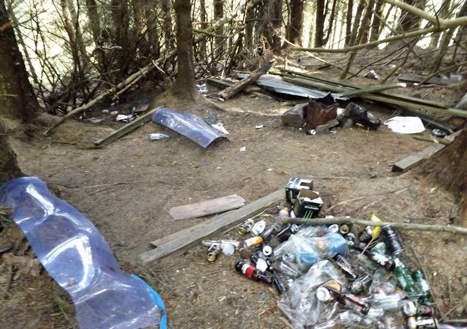 Letter: Beinn Ghuilean litter is 'disgusting and selfish'