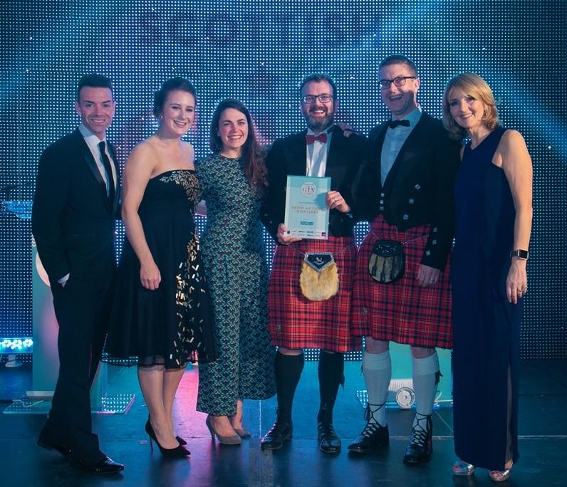 Gin distillers on 'cloud nine' at Scottish awards