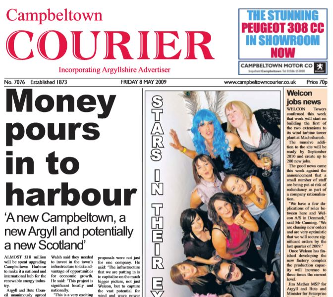 Campbeltown Courier PDF Archive 2009
