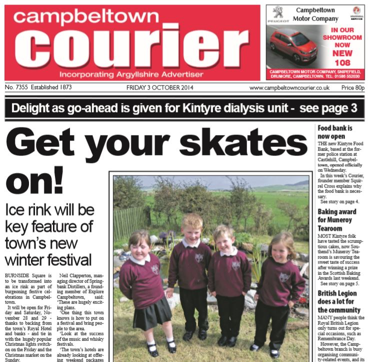 Campbeltown Courier PDF Archive 2014