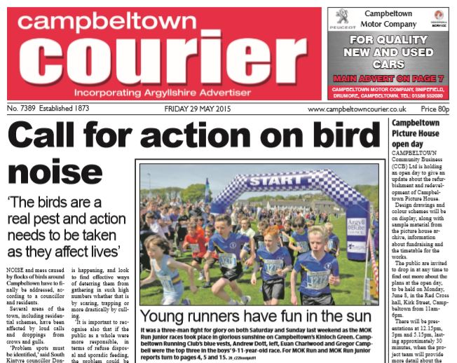 Campbeltown Courier PDF Archive 2015