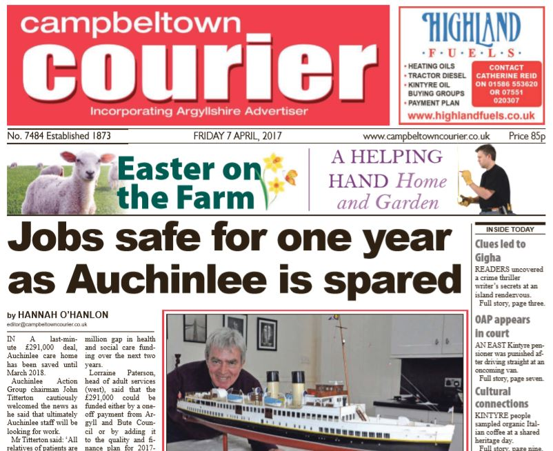 Campbeltown Courier PDF Archive 2017