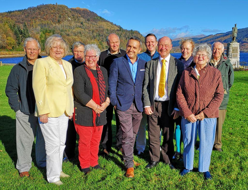Argyll and Bute Lib Dems gather at Inveraray