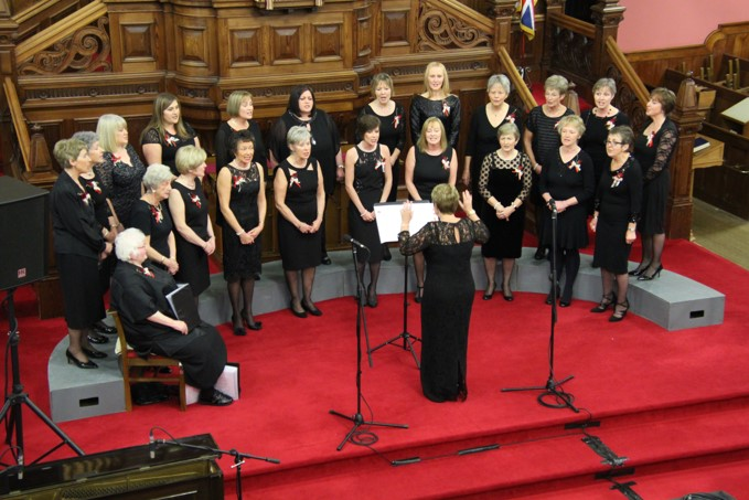 Carols corralled by Kintyre Chorale