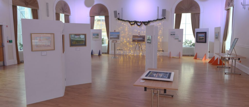 Town hall art show canvassed many visitors