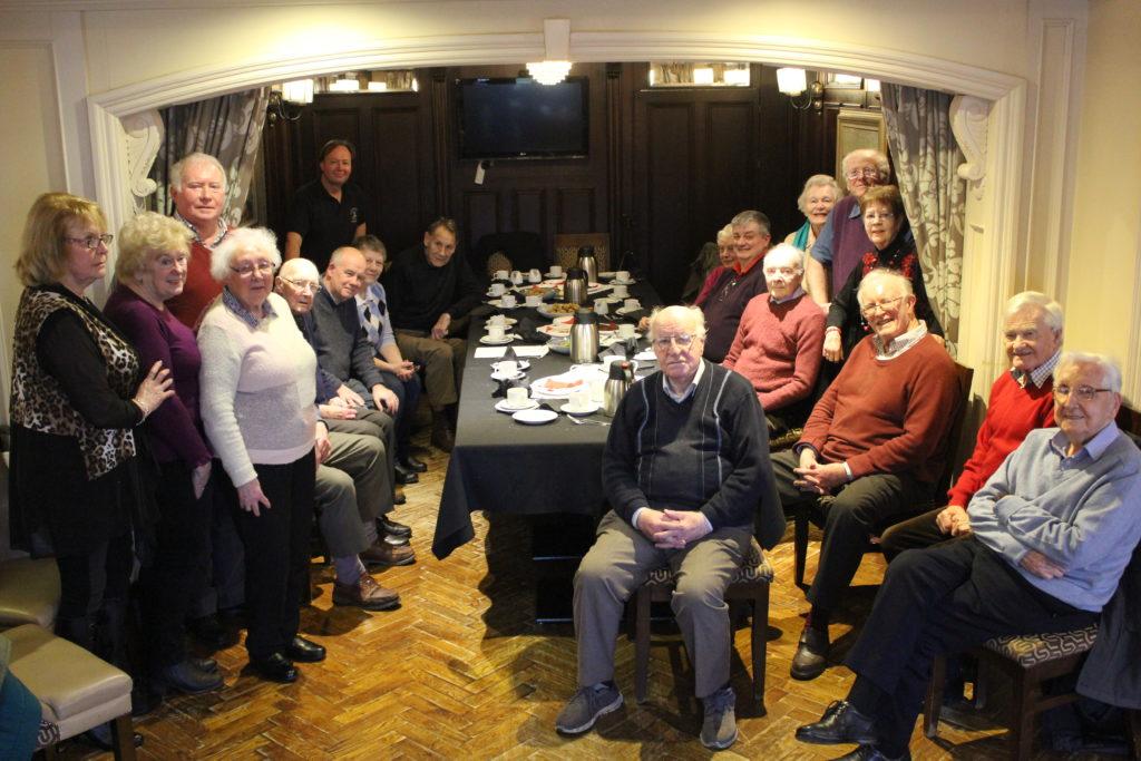 Old Pals' Burns gathering