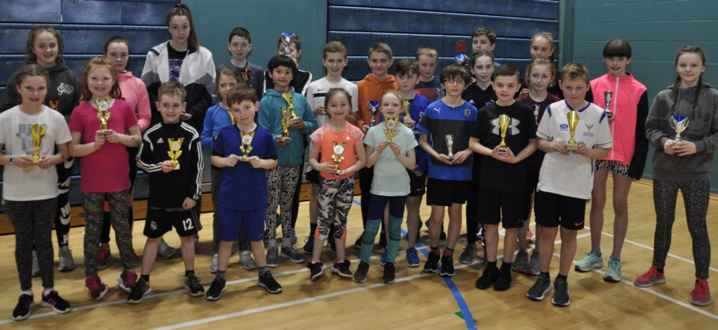Kintyre's Kirstie and Violet are Argyll athletics winners