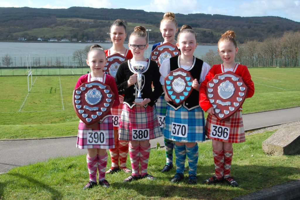 Highland dancers step to Mid Argyll victory