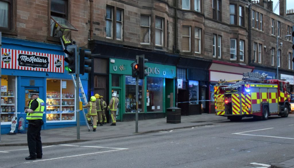 Campbeltown tenement residents evacuated